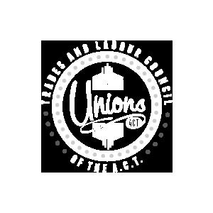 UnionsACT - retro logo