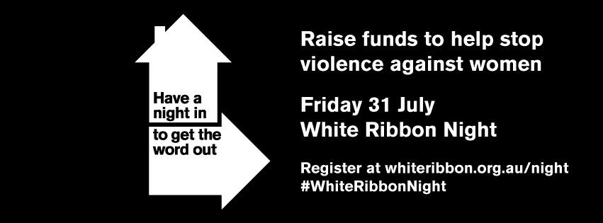 White Ribbon Night 2015 UnionsACT