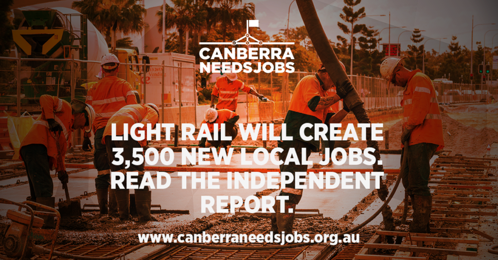 Canberra Needs Jobs independent jobs report Aug 2015
