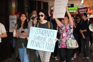 Penny University Protest - 2015