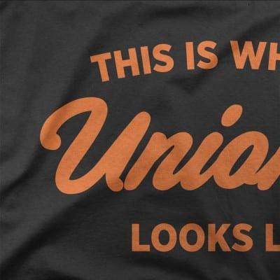Unionist T-shirt Close Up